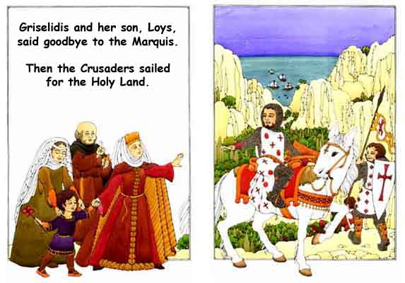 Crusaders leave for the Holy Land
